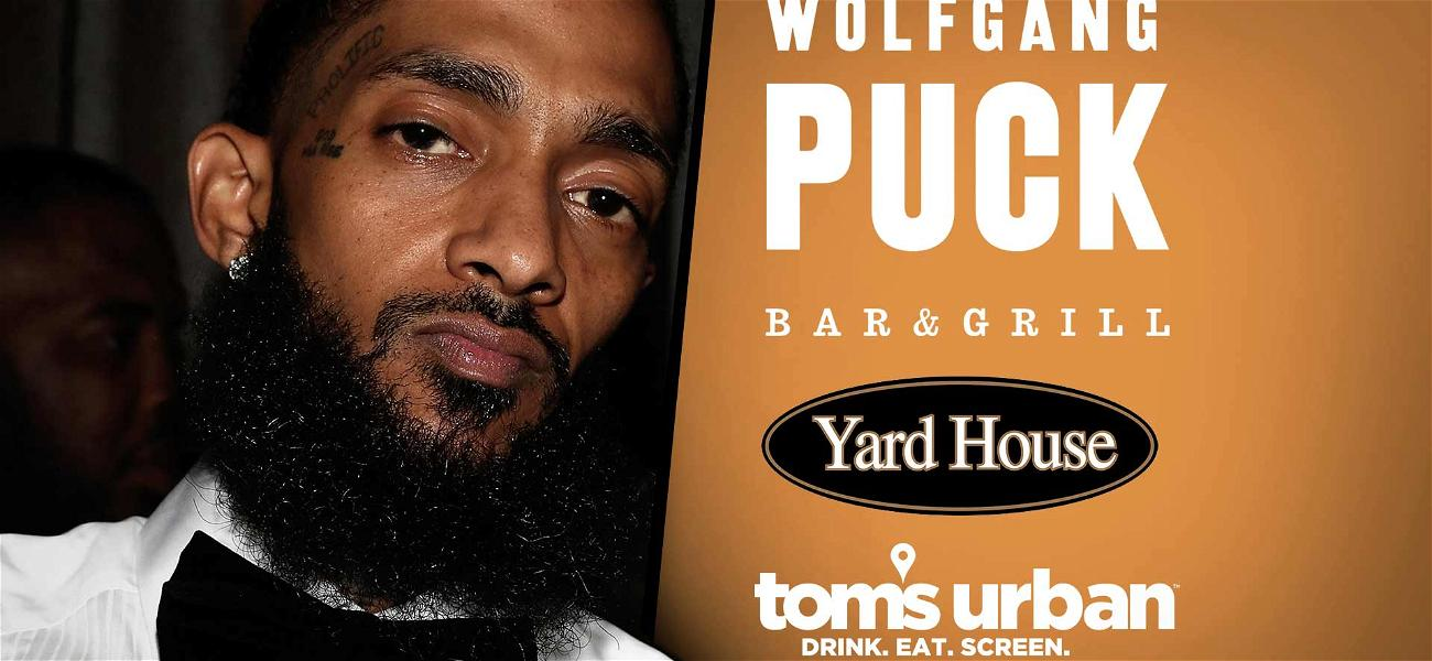 Wolfgang Puck's L.A. Live Restaurant to Honor Nipsey Hussle by Closing Down During Memorial