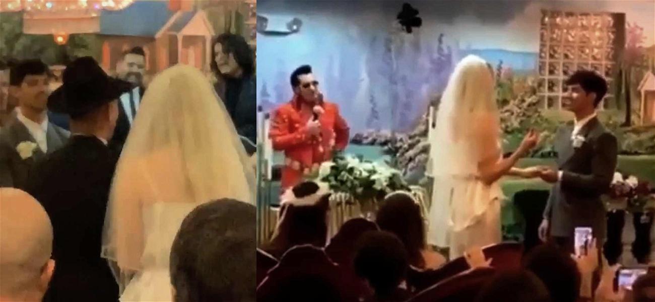 Elvis Officiated Joe Jonas and Sophie Turner's Las Vegas Wedding