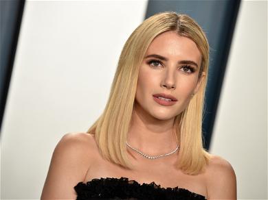 'Pregnant' Emma Roberts Shops For Groceries With Boyfriend, Garrett Hedlund In LA