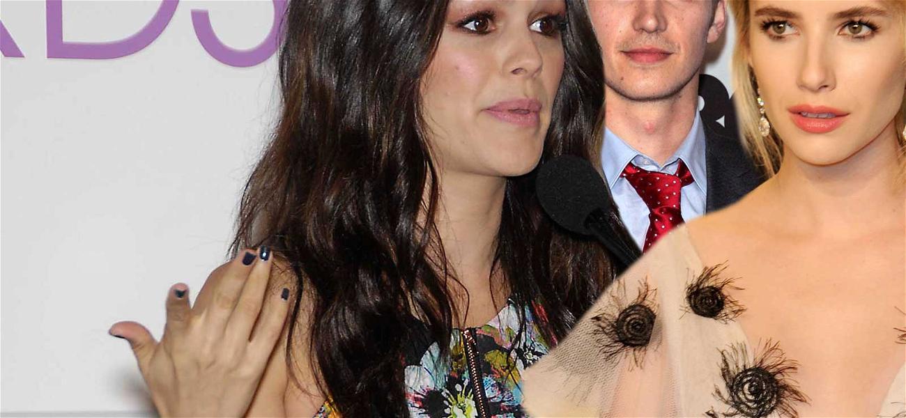 Rachel Bilson's Awkward Run-In with Emma Roberts, Days After Hayden Split