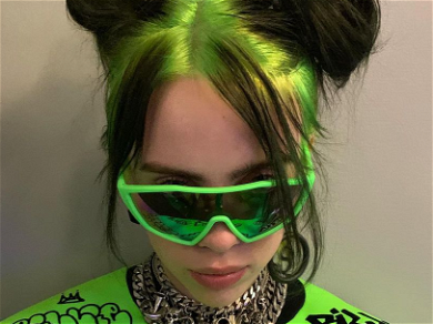 Billie Eilish's Backside Gets A BIG KISS From Brother's Girlfriend In Cheeky Pic