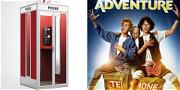 'Bill & Ted's Excellent Adventure' Phone Booth Is the Thing You Didn't Know You Wanted