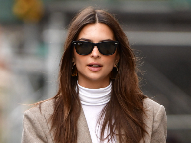 Emily Ratajkowski Drinks Coffee Naked While Sitting On Her Couch