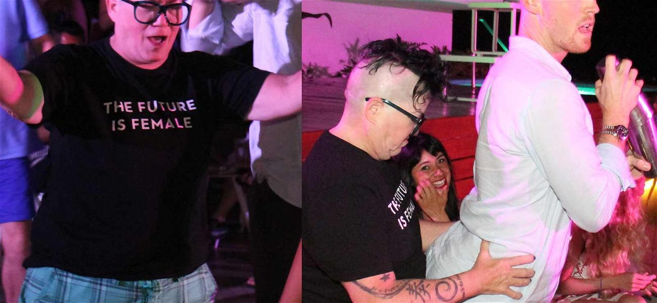 'Orange is the New Black' Star Lea Delaria Is a Real Handful in Mexico for 60th Birthday