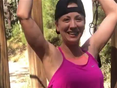 Kaley Cuoco Lights Up Instagram Showing Off Insanely Bangin' Body While Jump Roping!