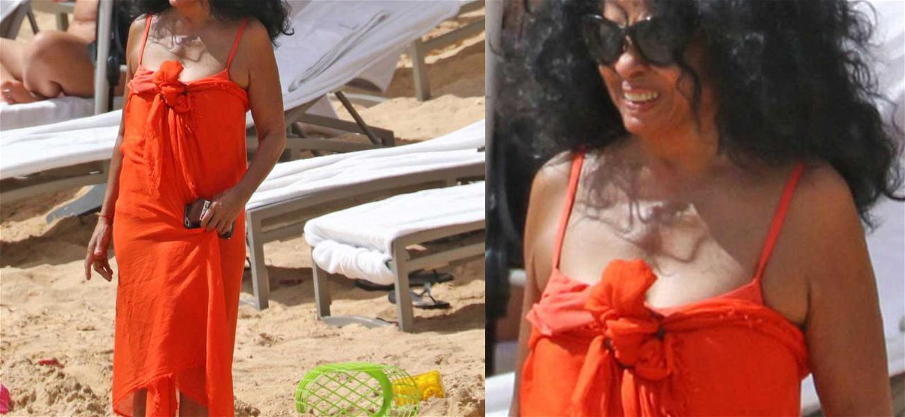 Diana Ross Looks Effortlessly Gorgeous on the Beach … Would You Expect Anything Less?