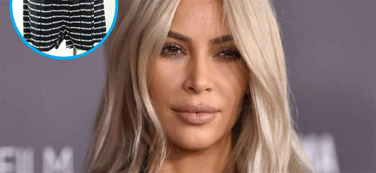 Kim Kardashian Is Selling Kanye's Underwear On The Internet (For Charity)