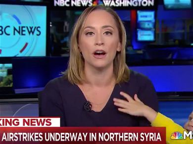 NBC News Correspondent Goes Viral After Her Kid Crashes Studio During Live Report