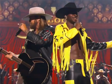 Watch Billy Ray Cyrus And Lil Nas X Bring Down The House At The BET Awards