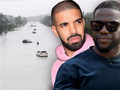 Drake and Kevin Hart Ramp Up Houston Flood Relief