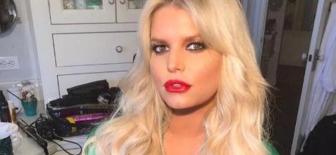 Jessica Simpson All Legs For Bathtime Showing 100-Pound Weight Loss