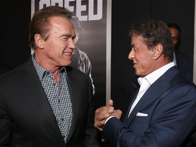 Arnold Schwarzenegger One-Ups Sly Stallone With Bigger Knife