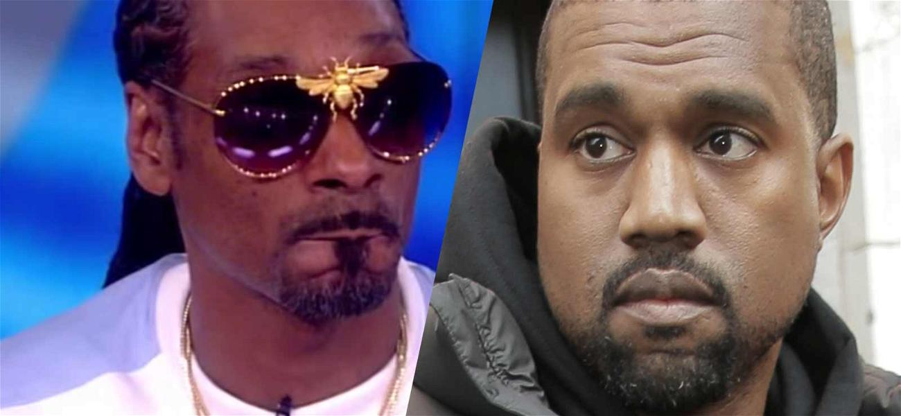 Snoop Dogg Says Kanye West 'Needs a Black Woman In His Life'