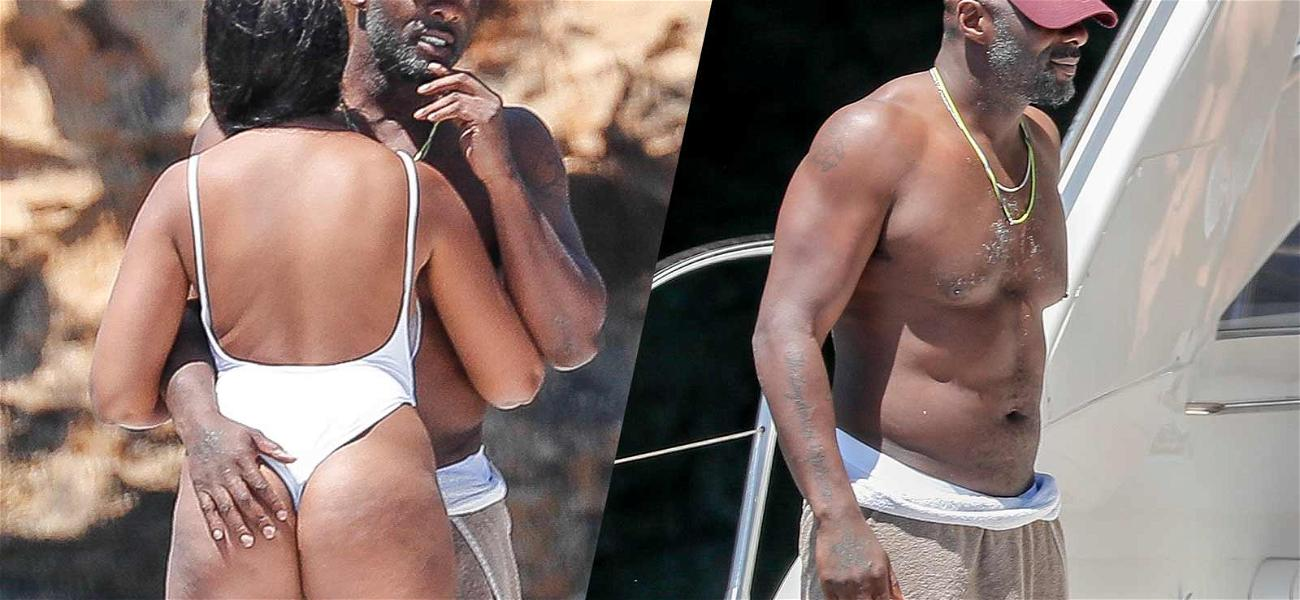 Idris Elba Tests the Waters Near Fiancée's 'Pacific Rim' in Ibiza