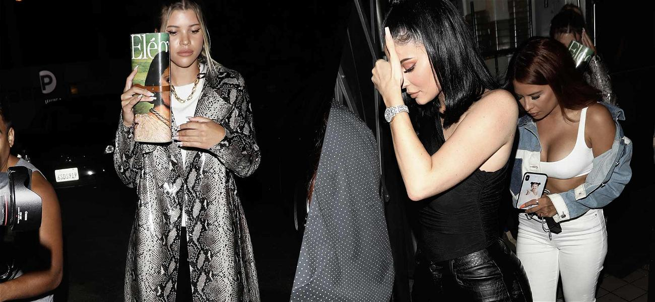 Kylie Jenner Has Girls' Night Out With Sofia Richie