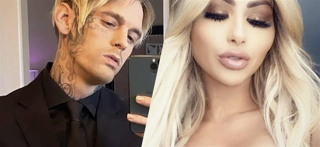 Aaron Carter's New Girlfriend Pleads With Cyberbullies To Stop Attacking Her