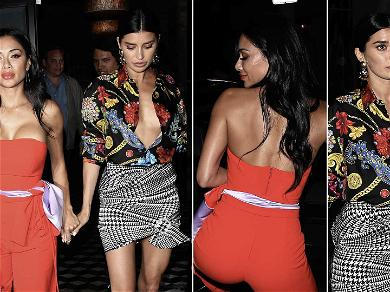 Nicole Scherzinger & Nicole Williams Sizzle While Holding Hands During Girls' Night Out