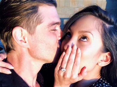 Cheryl Burke and Matthew Lawrence Are Engaged! See The Stunning Ring!