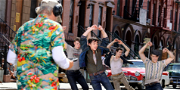 Steven Spielberg Grooves With The Jets During Filming of 'West Side Story'