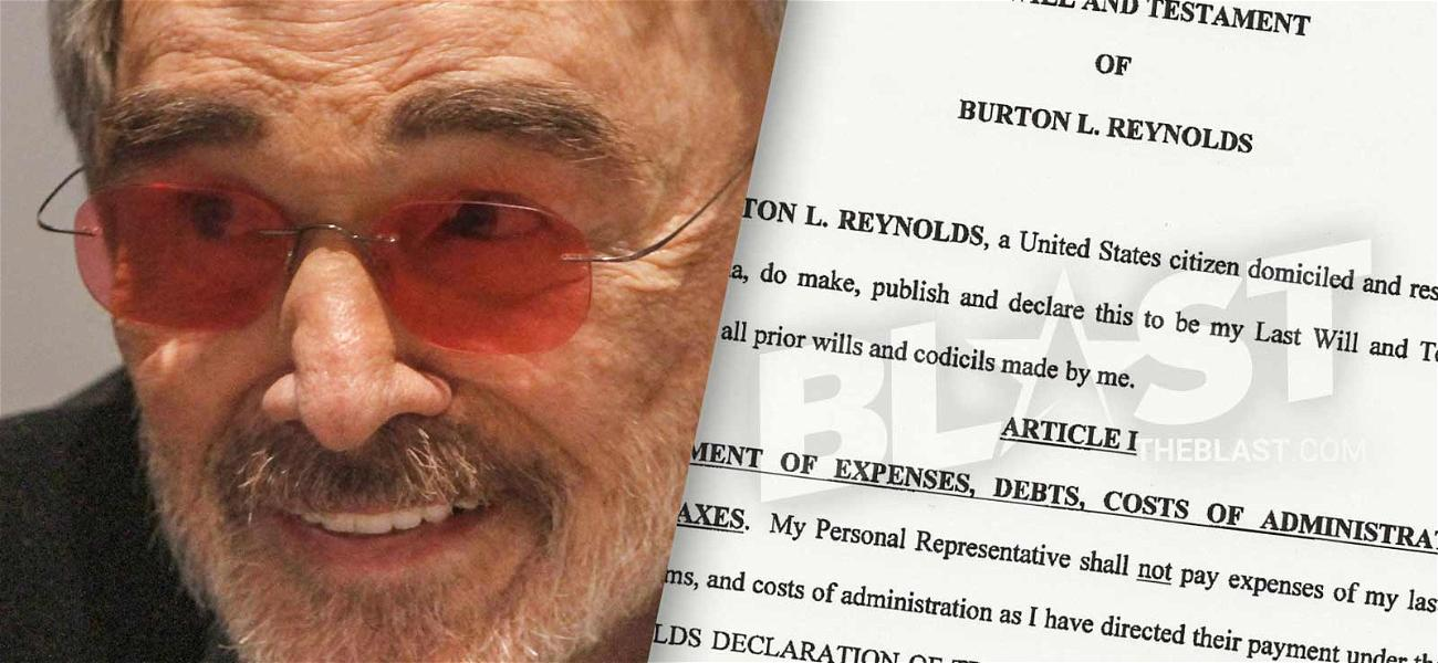 Burt Reynolds' Will Puts His Niece in Charge of His Estate