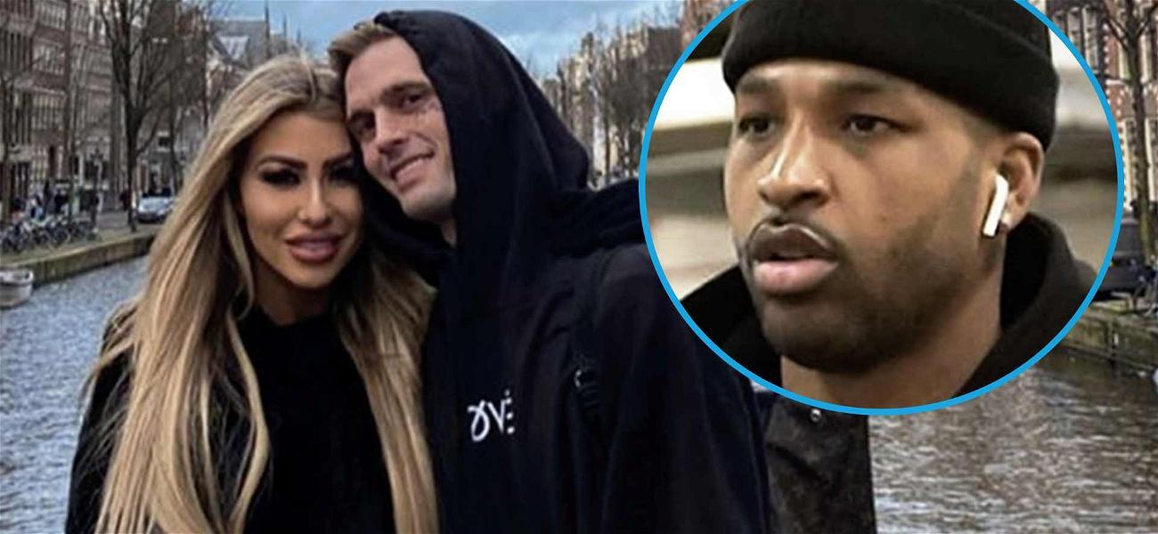 Aaron Carter's Pregnant Ex-Girlfriend Melanie Martin Says He's 'Tristan Thompson 2.0'