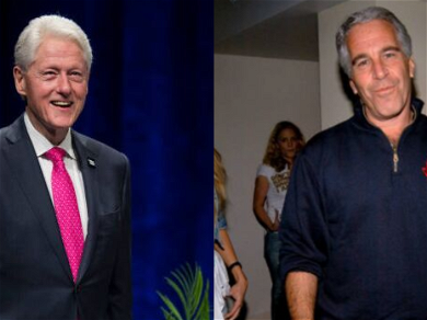 Jeffrey Epstein Reportedly Had A Portrait Of Bill Clinton In A Dress And High Heels