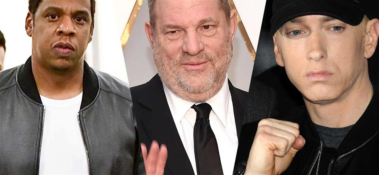 Jay-Z and Eminem the Latest Stars to Go After The Weinstein Company for Money