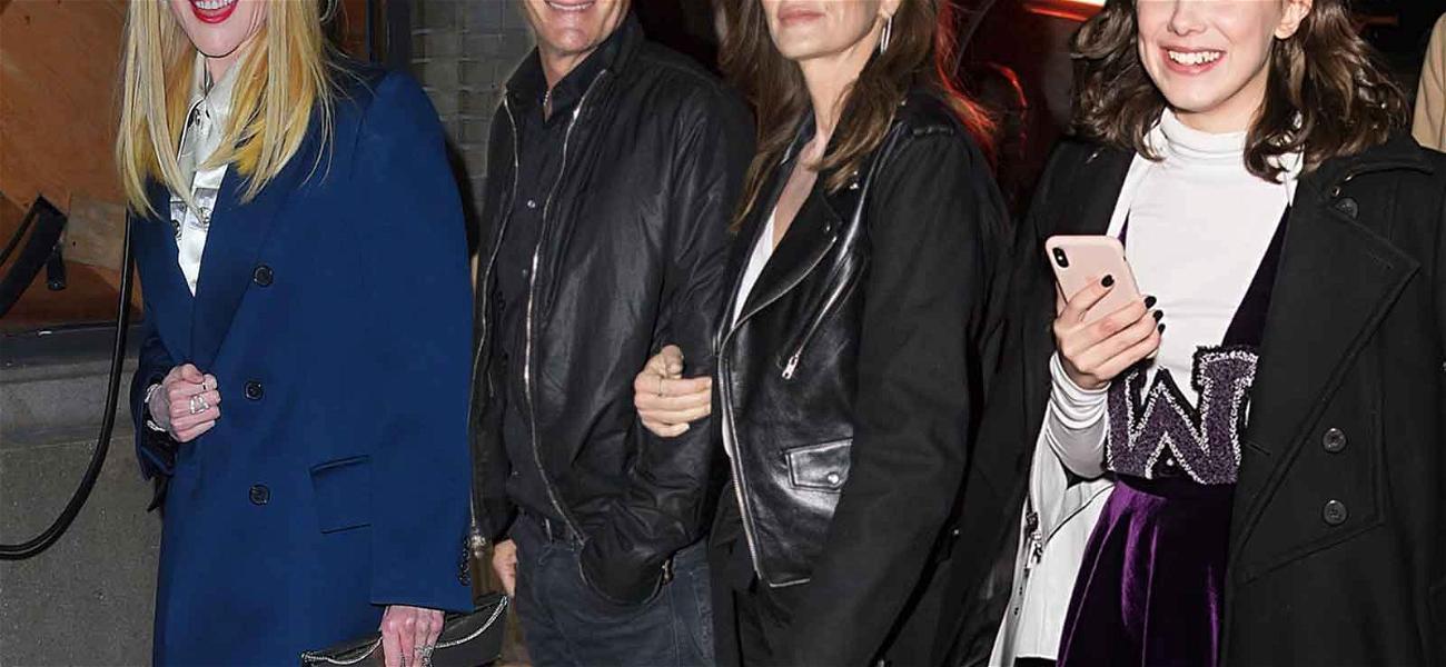 Nicole Kidman, Cindy Crawford & Millie Bobby Brown Turn Up for Calvin Klein