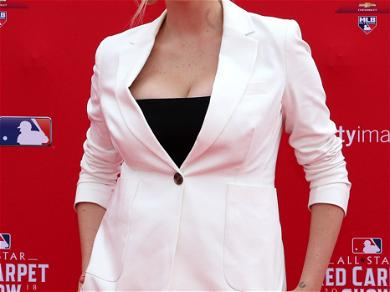 Kate Upton Shows Off Baby Bump During MLB All-Star Game