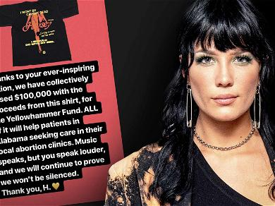 Halsey Raises $100k From T-Shirt Sales for Abortion Clinics in Alabama