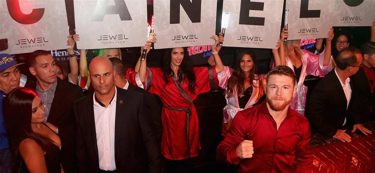 Canelo Alvarez Parties Like a Winner In Vegas