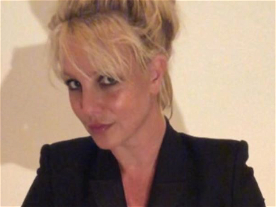 Britney Spears Sparks Fear After Going All Black For Secret 'Danger' Sign