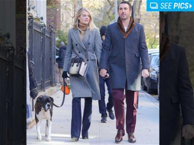 Kate Upton and Justin Verlander are Doggone Adorable
