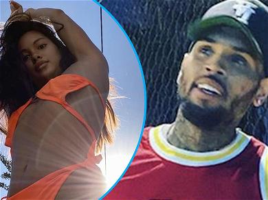 Ammika Harris Shows Chris Brown What He's Missing In Tiny Bikini After Breakup