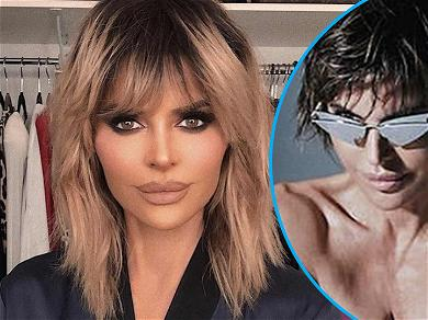 'RHOBH' Star Lisa Rinna Goes Completely Nude In Sweat-Drenched Photo Shoot