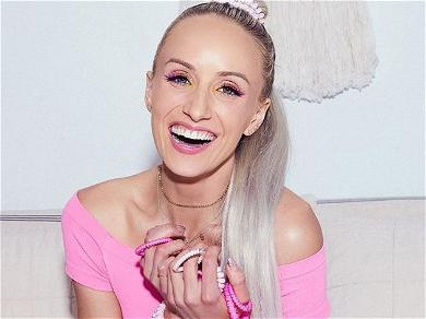 Gymnast Nastia Liukin Goes Sheer In Feathers To Introduce Herself