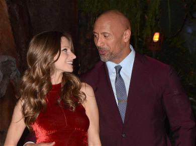 The Rock Welcomes 'Another Strong Girl' Into the World