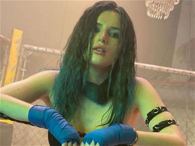 Bella Thorne Teases Hot Assortment Of Pics From Filming 'Chick Fight'