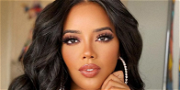 Angela Simmons Flaunts Juicy Figure In Juicy Couture Tracksuit For JLo Vibes