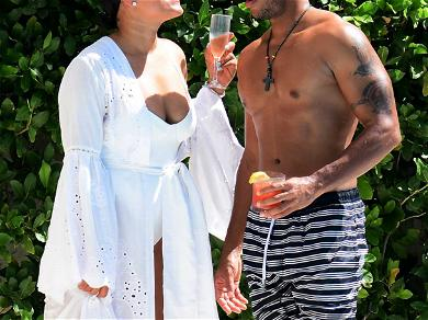 Ludacris and Wife Vacation in Barbados