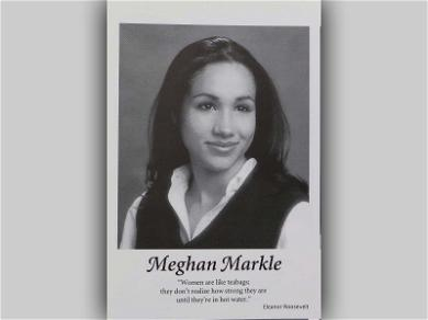 Meghan Markle's High School Yearbook Quote: 'Women Are Like Teabags…'