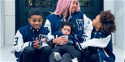 Singer Ciara & Family Decked Out In Seattle Seahawks Gear Supporting Russell Wilson