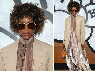 Naomi Campbell Ditches Long, Signature Locks for Curly New Lewk at Paris Fashion Week