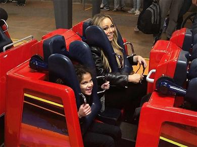 Mariah Carey Takes The Twins to Disneyland After Ex Nick Cannon Shades Nemesis J.Lo