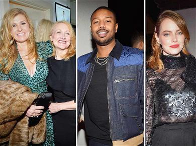 Michael B. Jordan, Emma Stone and More Kick Off Award Season With W Magazine's Golden Globes Party