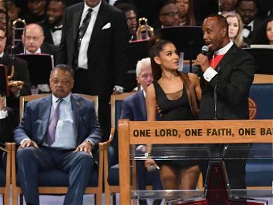 Aretha Franklin Funeral Pastor Apologizes for Groping Ariana Grande's Breast During Ceremony