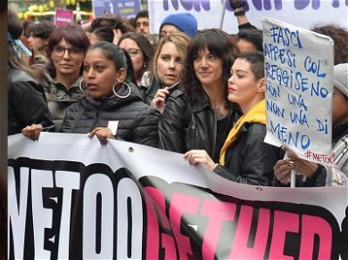 Rose McGowan and Asia Argento Unite for International Women's Day