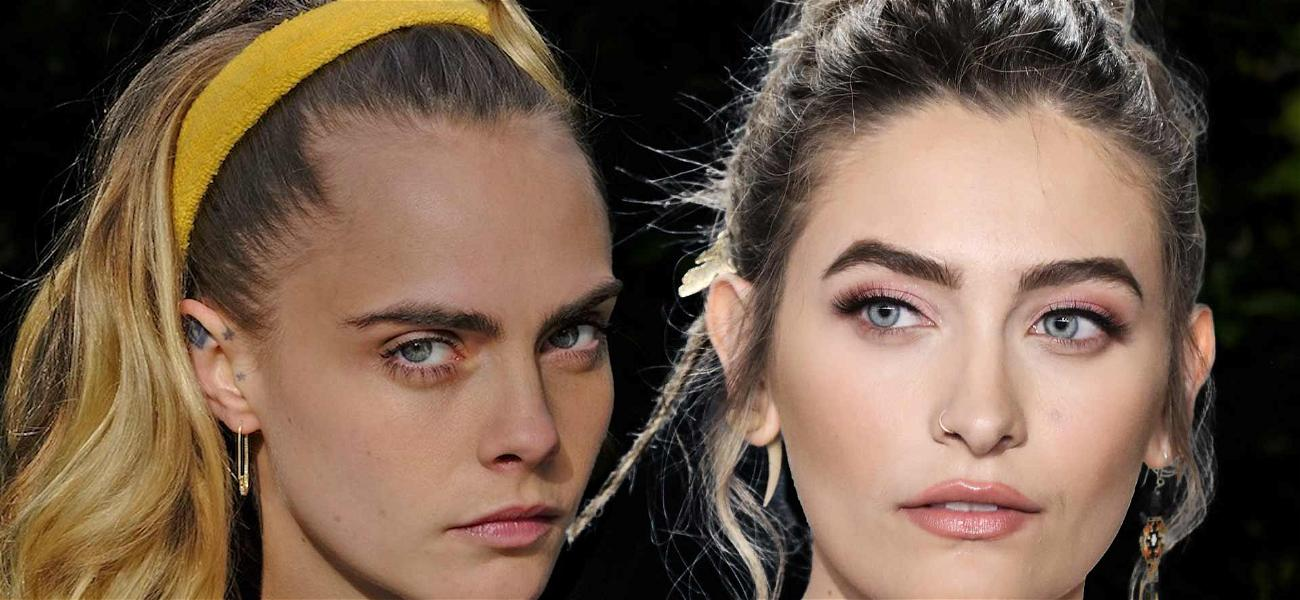 Paris Jackson and Cara Delevingne Debut Matching Rose Tattoos On Their Forearms