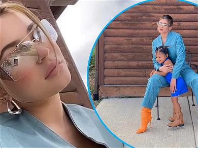Kylie Jenner & Daughter Stormi Are Better In Boots For Wild West Photoshoot