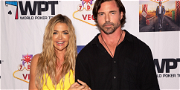 'RHOBH' Star Denise Richards Seen Holding Husband's Hand After He Threatened To 'Crush' It